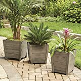 Fullrich Industries Co Better Homes and Gardens Cane Bay Wooden Outdoor Planter - Small