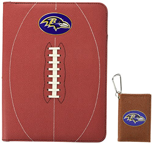 GameWear NFL Baltimore Ravens Classic Football Portfolio & ID Holder Gift Pack, One Size, Brown ()