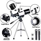 ToyerBee Telescope for Kids& Beginners, 70mm