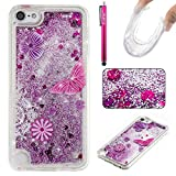Ipod Gen 5 32gb Best Deals - iPod Touch 5 Case, Firefish Slim Dynamic Flowing [Anti-Slip] Flexible TPU [Scratch Resistances] Protective Cover for Girls Children Fits for Apple iPod Touch 5 -Butterfly