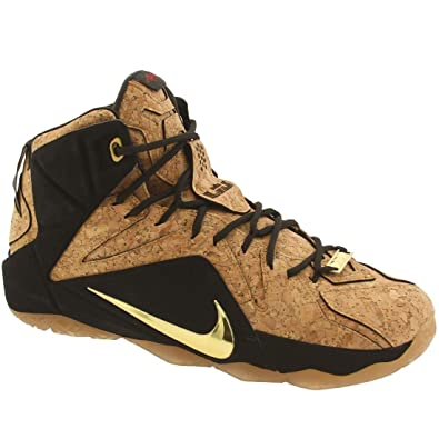 49a7f9024878b NIKE Lebron XII EXT Cork Mens hi top Trainers 768829 Sneakers Shoes Size   7.5