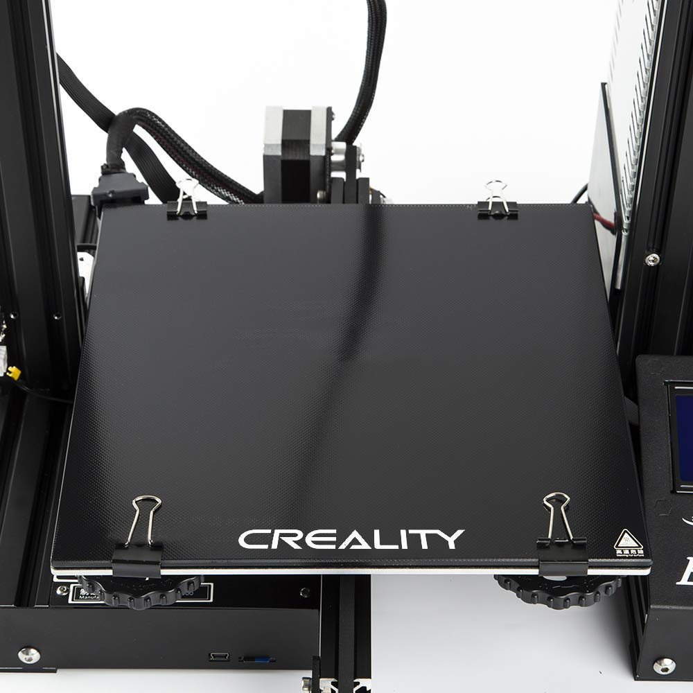 Amazon.com: Creality Ender 3 Cama de cristal, plataforma de ...