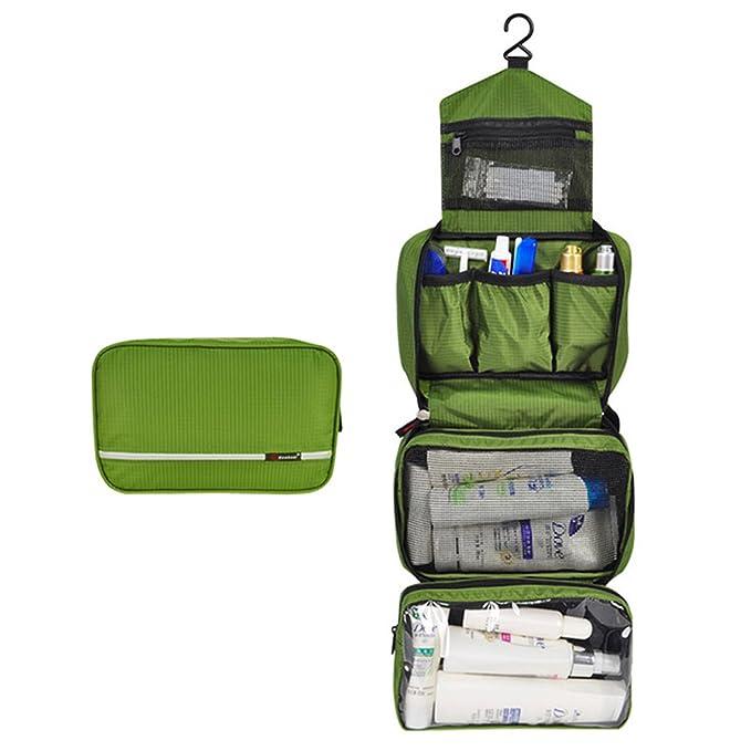 eb104adbe mowham bolsa de aseo para hombres y mujeres/Kit de aseo de viaje  organizador de/al aire libre: Amazon.es: Equipaje