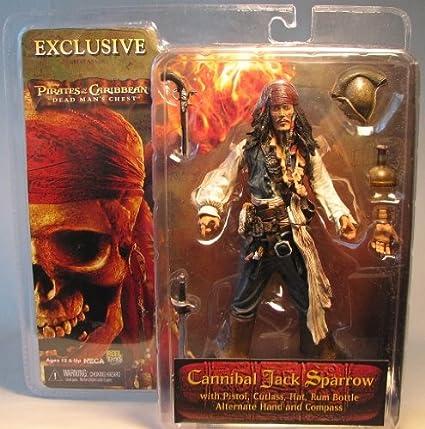NECA Pirates of the Caribbean Dead Mans Chest Series 2 Captain Jack Sparrow Action Figure