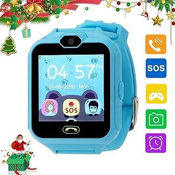 Smartwatch Niños,Zeerkeer Reloj Inteligente para Niños,cámara,SOS ...