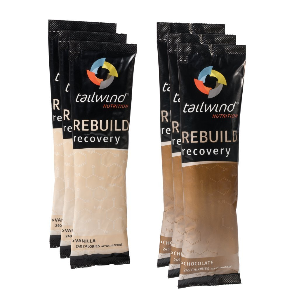 New! Tailwind Nutrition Rebuild Recovery Drink Mix Powder - 6 Stickpack Set by Tailwind Nutrition