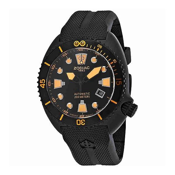 Zodiac ZO8016 - Reloj para Hombres, Correa de Goma