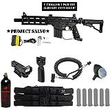 Tippmann U.S. Army Project Salvo Tactical Red Dot Paintball Gun Package