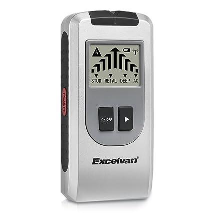 Excelvan AOK 6038 - Detector de Multifunción con Pantalla LCD (Detector de cables eléctricos,