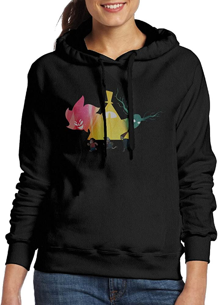 Mmo-J Women's Hoodie Over The Garden Wall Black