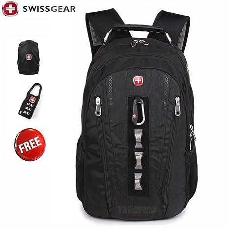 910b1e36748 Hot New Waterproof Swiss Gear Multifunctional Men Luggage   Travel Bags  Brand Knapsack,rucksack Backpack