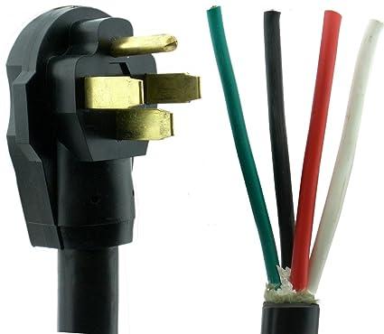 NU-CORD 94554 36-Feet 50-Amp Rv Cord on