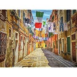 Laundry Picture Decor Italy Wall Art Venice Wall Décor Venice Italy Travel Picture Large Wall Art Laundry Room Living Room Family Room Office Wall Art Decor
