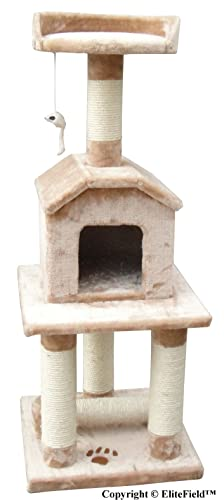EliteField-Cat-Tree,-Scratcher-Furniture-Condo-House