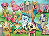 Ravensburger Patchwork Pups 150 Piece Jigsaw Puzzle for Kids – Every Piece is Unique, Pieces Fit Together Perfectly