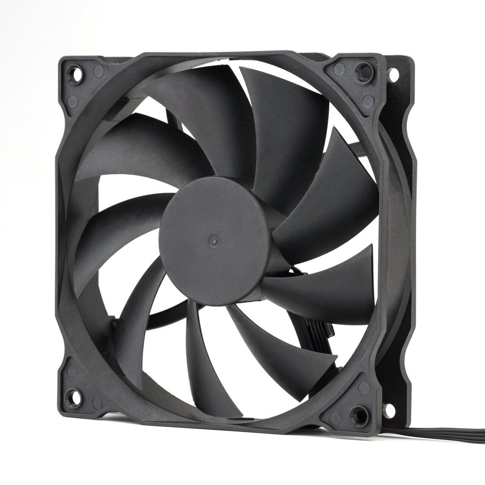 uphere 3-pack Long Life Computer Case Fan 120mm Cooling Case Fan for Computer Cases Cooling by upHere (Image #3)