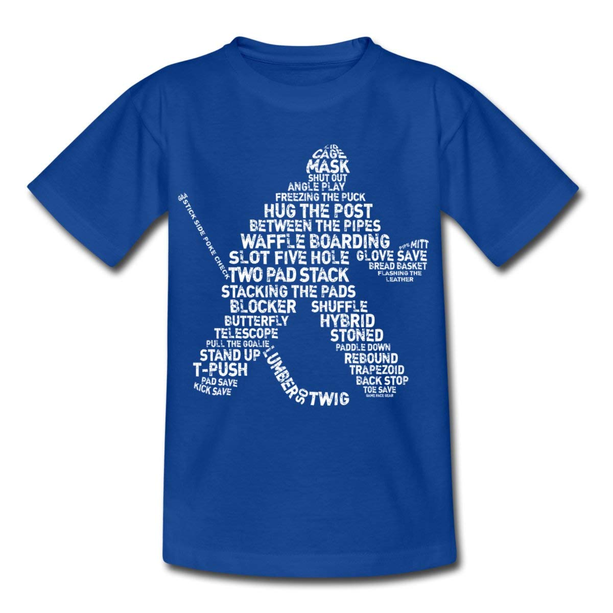 Sports Hobby Ice Hockey Goalie Terms Teenage T-Shirt