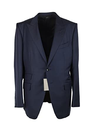 Tom Ford CL O Connor Navy Suit Size 54   44R U.S. Wool Fit Y  Amazon ... a2af4ac95ab