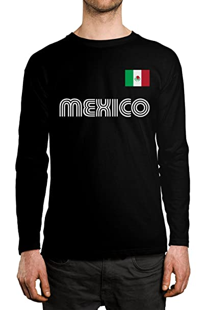 2fe942c4c Amazon.com  SpiritForged Apparel Mexico Soccer Jersey Men s Long ...