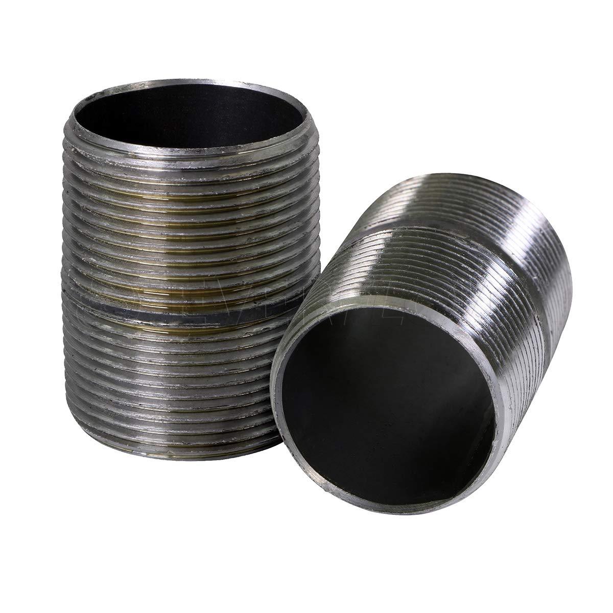 LASCO 17-9673 1//4-Inch Female Pipe Thread Galvanized Merchant Coupling