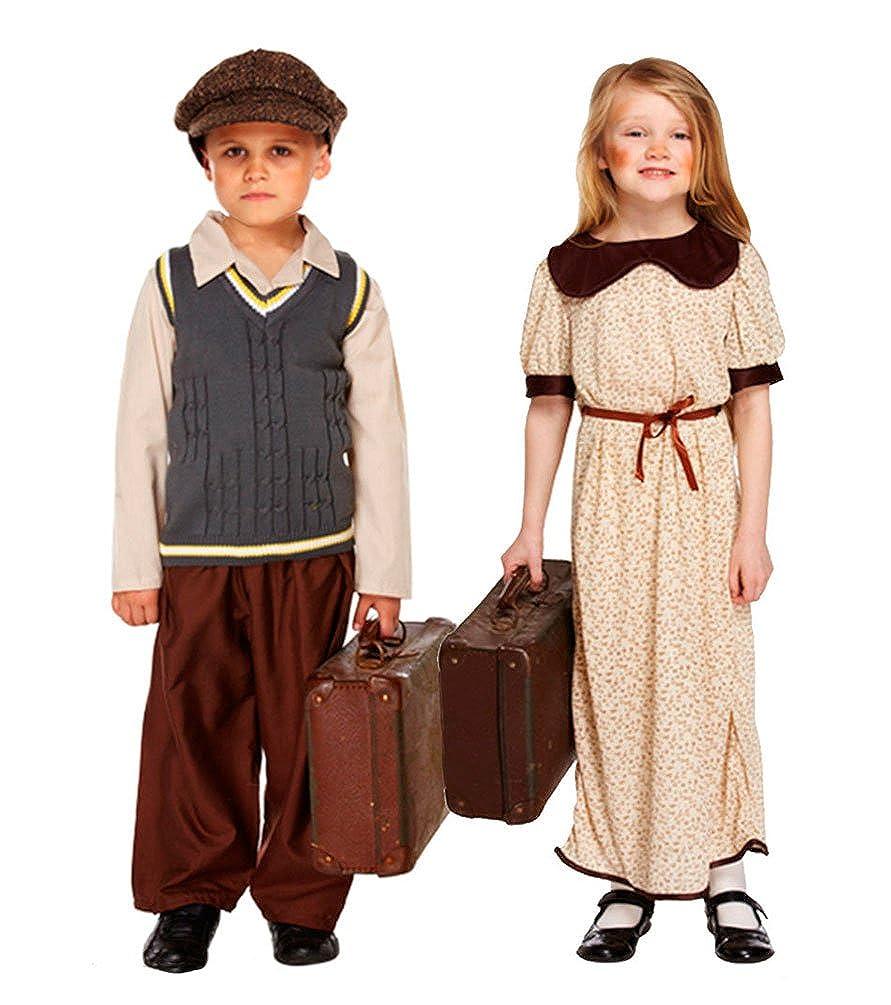 Disfraz de niño de la Segunda Guerra Mundial: Amazon.es ...