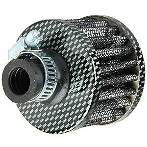 E Support™ 12mm Mini Cone Cold Air Intake Filter Turbo Vent Car