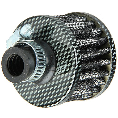 E Support™ 12mm Mini Cone Cold Air Intake Filter Turbo Vent Car (Intake Breather)