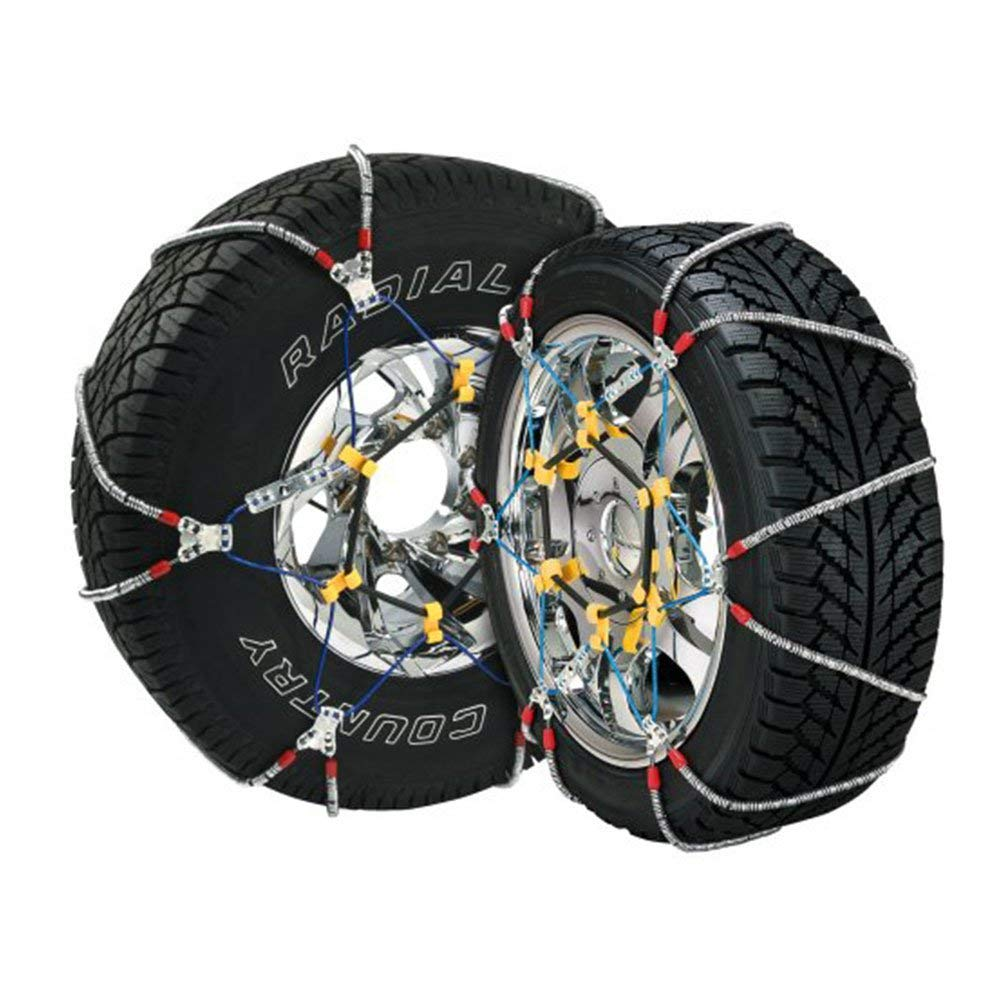 Security Chain Company SZ492 Super Z8 8mm Commercial and Light Truck Tire Traction Chain - Set of 2