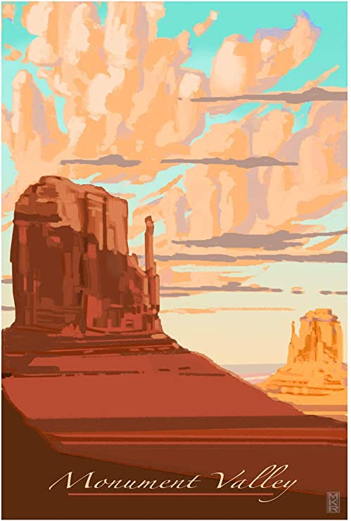 Monument Valley Travel Poster