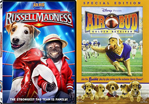 Air Bud Presents 2-DVD Feature - Air Bud: The Golden Retriever & Russell Madness - Mall Peabody