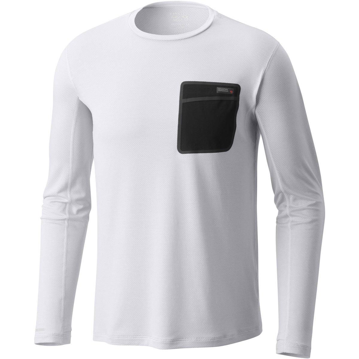 マウンテンハードウェアMetonic長袖シャツ – メンズ B079TGWMBX X-Large|Fogbank Fogbank X-Large