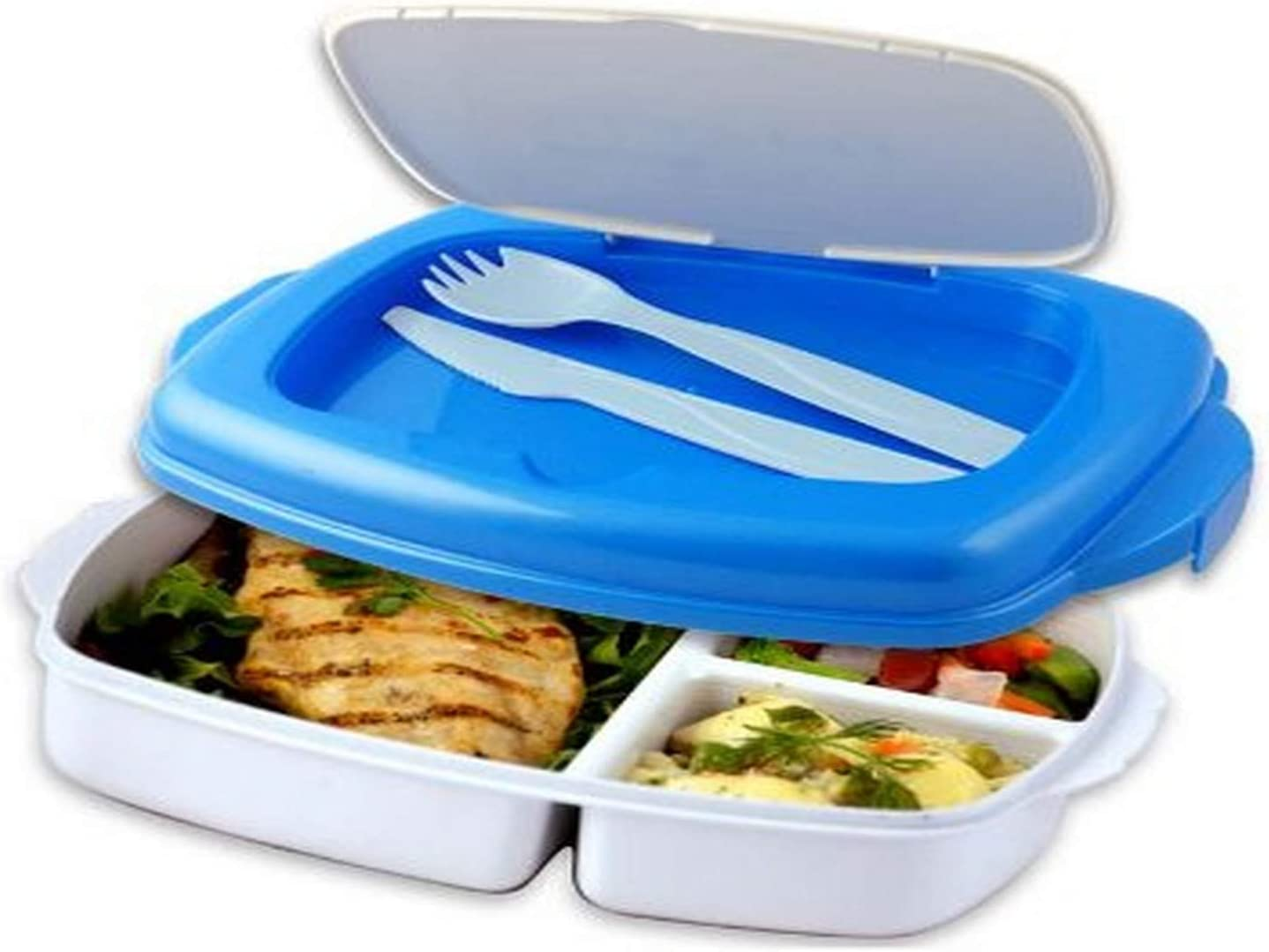 Stay-Fit Lunch 2 Go Container, EZ Freeze by Cool Gear Stay-Fit: Amazon.es: Hogar