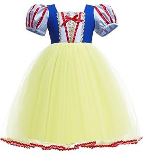 Disfraz De Blancanieves Para Niña Carnaval Halloween