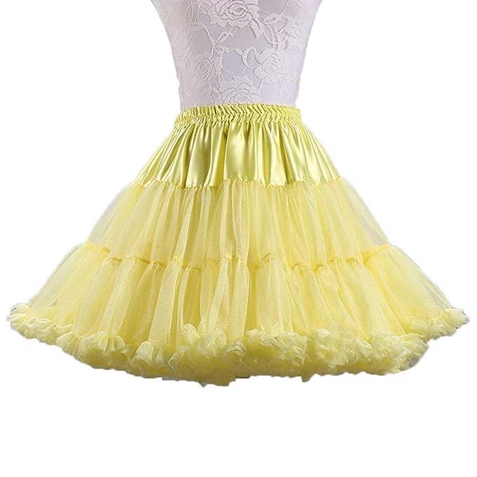 Ab.Mall Mujeres Tutu Traje de Ballet Suave Enagua de Tul de ...