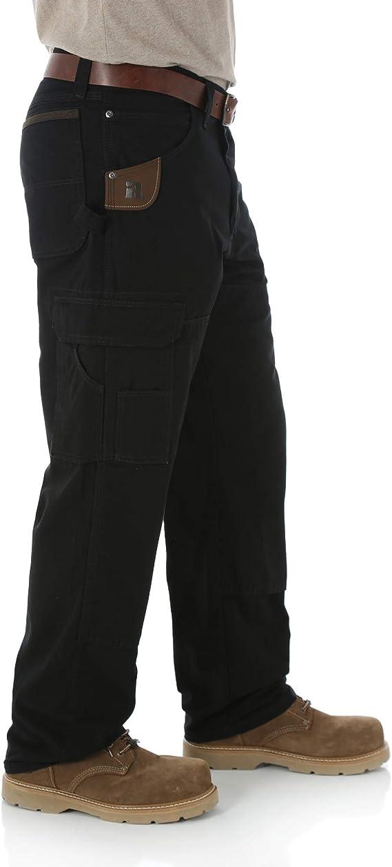 Wrangler Riggs Workwear Pantalones Ranger Para Hombres 29 Cintura X 30 Largo Negro Clothing Amazon Com