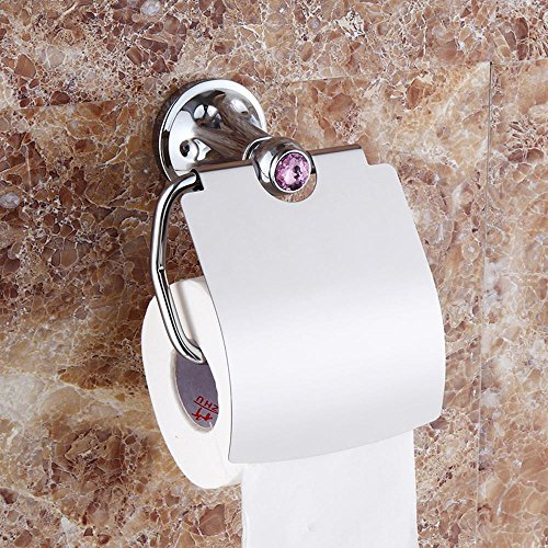 le toilet toilet roll holder tray copper + copper zinc-bathroom accessories-YU&XIN ()