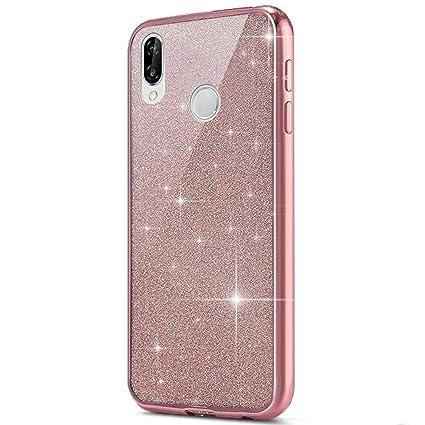 Amazon.com: Huawei P20 Lite Case,Bling Bling Cover ...