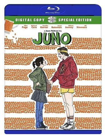 Amazoncom Juno Special Edition Blu Ray Michael Cera Ellen