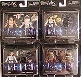 Aliens Minimates Series 3 Complete Set of Four 2-Packs (8 Figures)