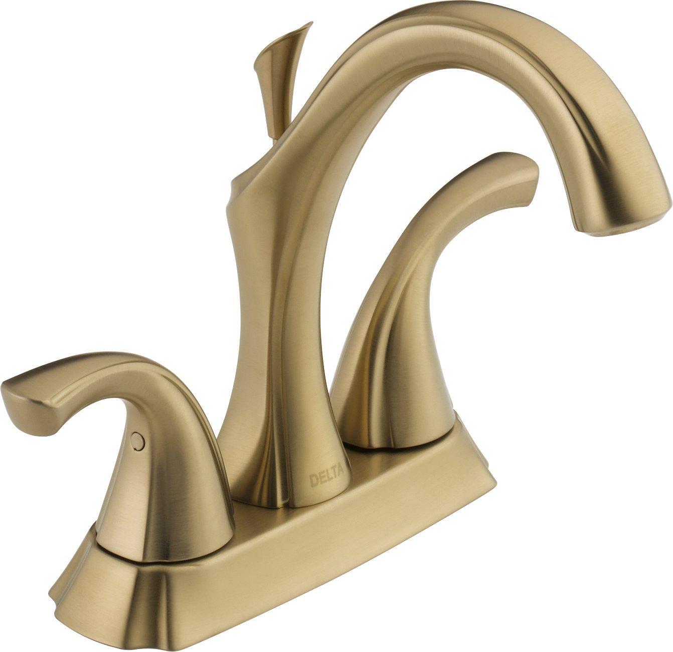 Delta Faucet 2592-CZMPU-DST Addison Two Handle Centerset Bathroom ...