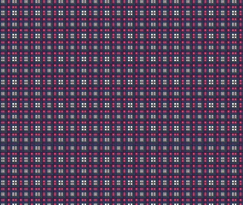 Navy Fabric Digital Playground by Regal Rebel Printed on Sport Lycra Fabric by the Yard by Spoonflower