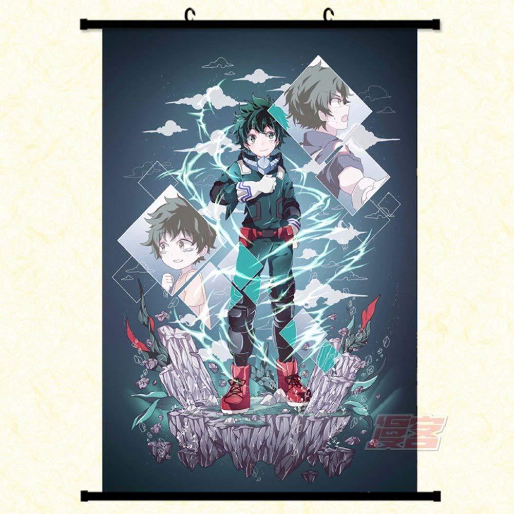 P/óster de dibujos animados para colgar small Izuku Midoriya Saicowordist My Hero Academia Anime