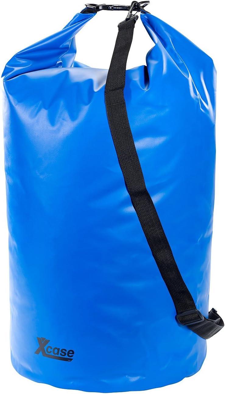 Urlauber-Set wasserdichte Packsäcke 16//25//70 Liter blau Wasserdichter Seesack
