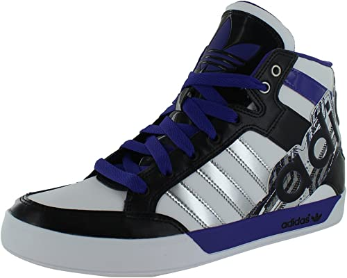 Reparación posible Íncubo testigo  Adidas Originals Men's Adi Hard Court Hi Big Logo Shoes White Size 11:  Amazon.ca: Shoes & Handbags