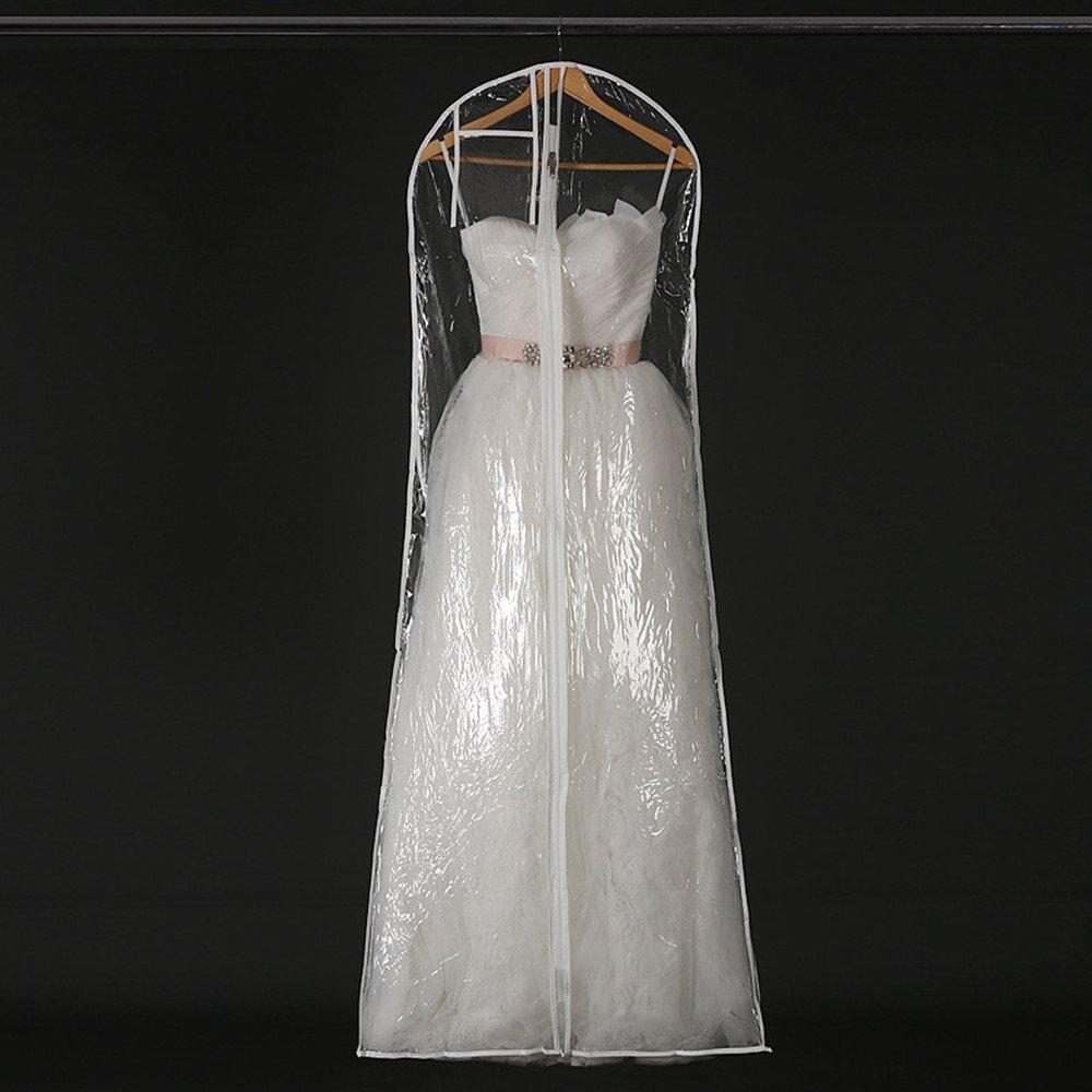 Amazoncom Henglizh Transparent Wedding Dress Dust Cover Garment