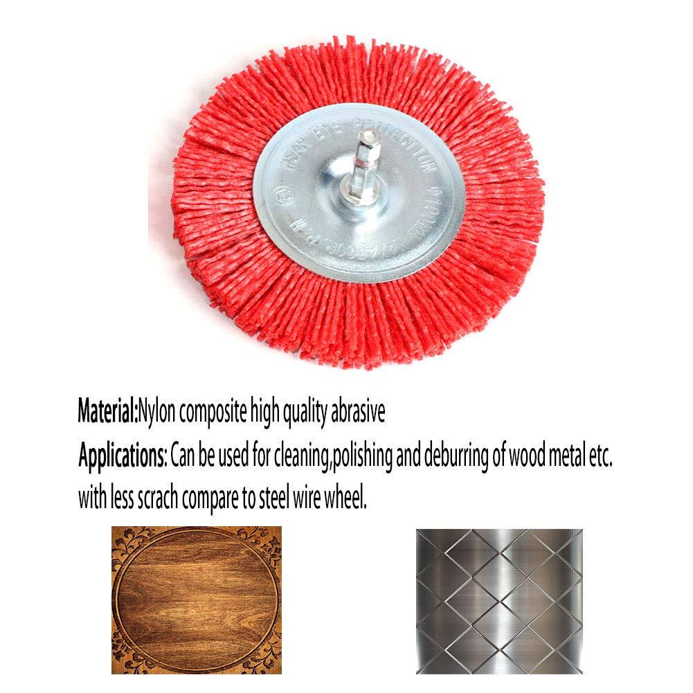2 x 1//2 x 1//4 Type 521 Aluminum Oxide Standard Abrasives 852115 A//O Unitized Wheel 20 Units Medium Grade