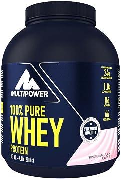 Multipower 100% Whey Protein, Sabor Strawberry Splash - 2000 gr