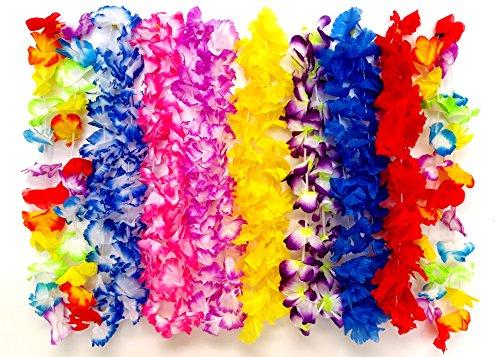 Plastic Flower Leis - 5