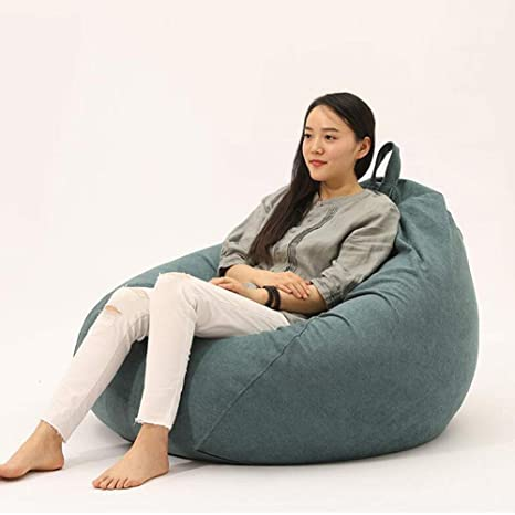 Cool Amazon Com Xuerui Furniture Bean Bags Chairs Sofa Lounger Bralicious Painted Fabric Chair Ideas Braliciousco