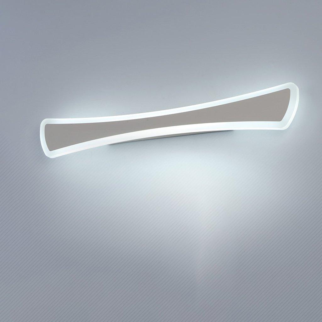 LED、洗面ライト、ミラーヘッドライト、洗面器ライト、北欧モダンなバスルームライト、防水、防曇、防錆ミラーキャビネットライト、白光、60cm B07C4SCMHM 10825
